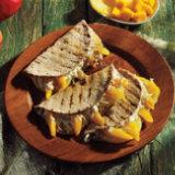 Mango and Pineapple Quesadillas