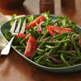 Marinated Tomato And French Bean Salad