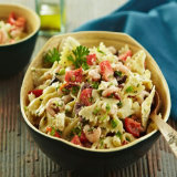 Mediterranean Shrimp And Pasta Salad