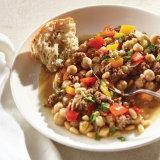 Mediterranean Spiced Bison and Chickpea Stew