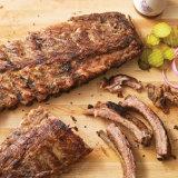 Mesquite Rubbed BBQ Pork Ribs