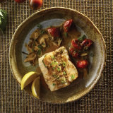 Pan Seared Cod with Roasted Tomatoes
