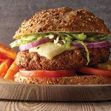 Peace, Love and Veggies Burger