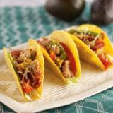 Pollo Guisado Tacos