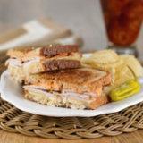 Pork Loin Reuben Sandwich