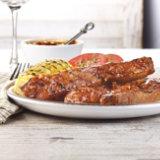 Pork Ribs With Chutney BBQ Sauce