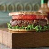Portobello Black Bean Burger