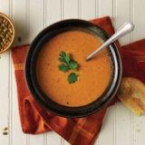 Pumpkin Chipotle Cream Soup