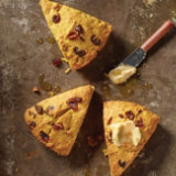 Pumpkin & Cranberry Scones with Maple Butter