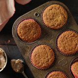 Pumpkin Cupcakes with Salted Cinnamon Buttercream