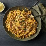 Pumpkin & Pancetta Fettuccine Alfredo