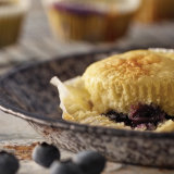 Quick Lemon Blueberry  Muffins