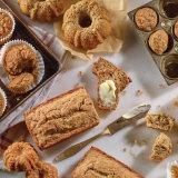 Reduced Sugar Banana Muffins