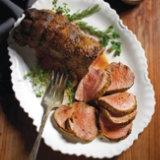 Roasted Beef Tenderloin with Creamy Horseradish Sauce