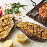 Roasted Eggplant & Red Pepper Sauce