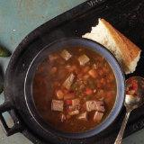 Roasted Jalapeño Brisket Soup