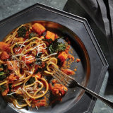 Roasted Kale and Butternut Squash Bolognese