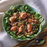 Roasted Salmon and Tabbouleh Salad