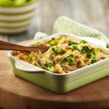 Rotisserie Chicken Broccoli & Rice Bake