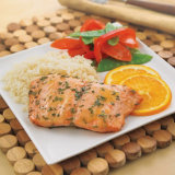 Salmon With Orange-Ginger Glaze