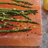 Salt Block Roasted Asparagus