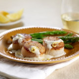 Sea Scallops With Lemon-Cream Sauce