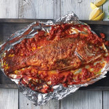 Sicilian Whole Red Snapper