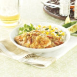 Simmered Green Chili Chicken & Rice