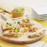 Smoked Salmon And Goat Cheese Quesadillas II