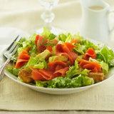 Smoked Salmon Caesar Salad
