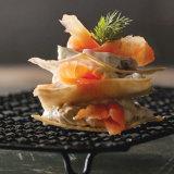 Smoked Salmon Napoleon