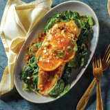 Smoky Clementine Grillled Sole