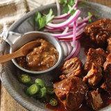Smoky Pulled Pork with Bacon Jalapeño Mustard