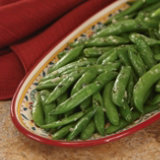 Snap Peas With Tarragon-Mustard Vinaigrette