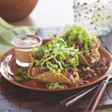 Sombrero Taco Salad with Chipotle Dressing