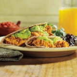 Soyrizo and Egg Breakfast Tacos