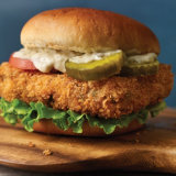 Spicy Fish Burgers