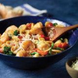 Spicy One Pot Shrimp with Orecchiette