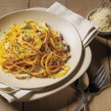 Spicy Saffron Crab Spaghetti
