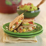 Spicy Shrimp Caribbean Quesadillas