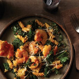 Spicy Shrimp with Kale and Banza