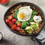Spinach Quinoa Breakfast Bowl