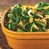 Stir-Fried Spinach with Pine Nuts & Raisins