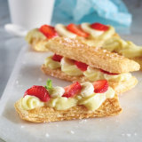 Strawberry Banana Mille-Feuilles