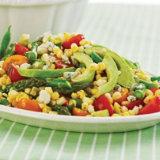 Summer Asparagus Corn & Tomato Salad