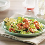Summer Lettuce & Salmon Salad