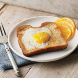 Sunny Side Egg In Toast