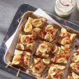 Sweet and Savory Cinnamon Banana Bacon Bars