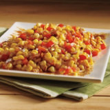 Sweet Corn Succotash with Spicy Butter