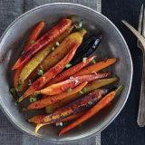 Sweet Hickory Roasted Baby Rainbow Carrots